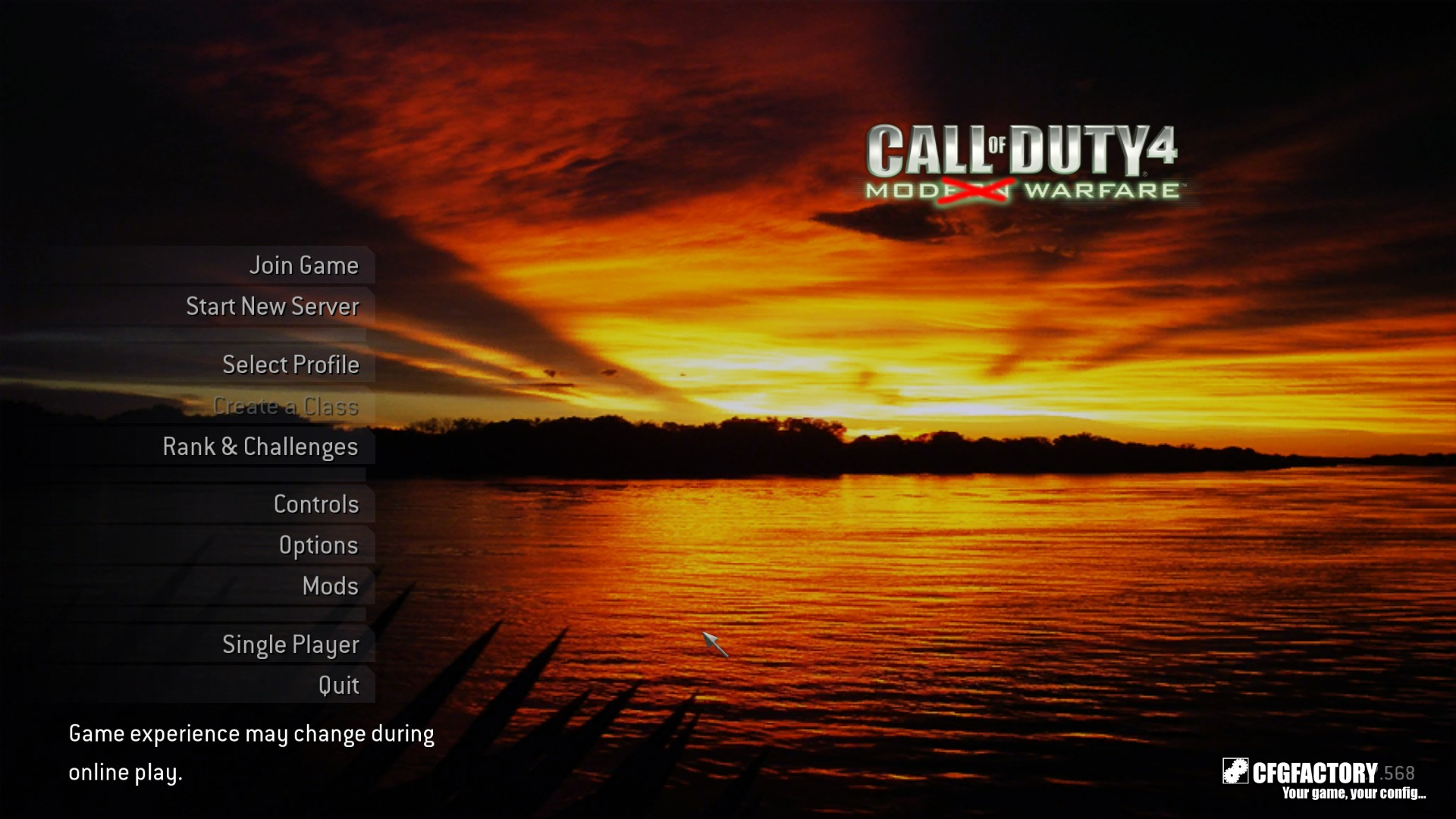 cod4, menu backgrounds, sunrise, rahab