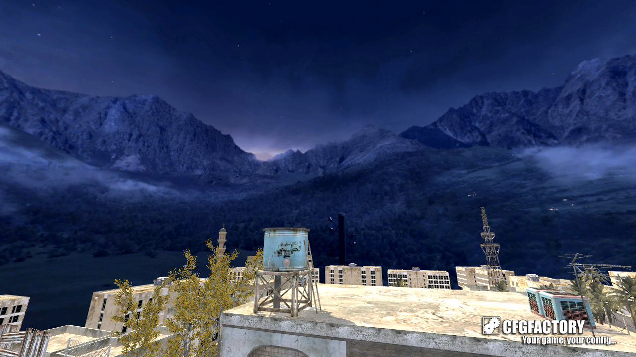 cod4, skies, cloudy mountains sky, bartzz