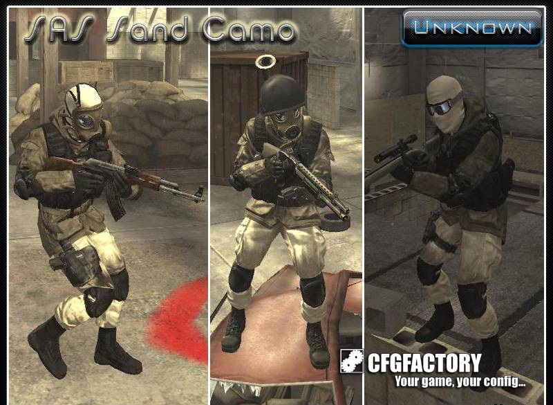 cod4, camouflages, sas sand camo, unknown