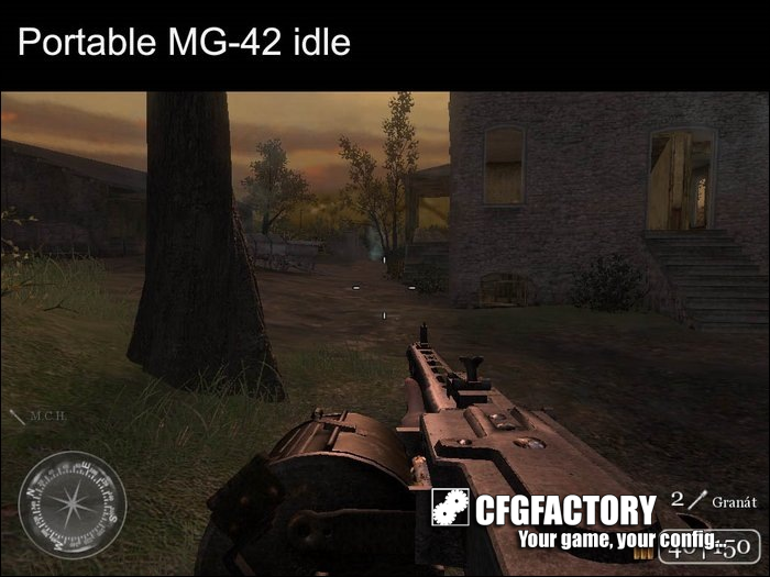 cod2, custom models, portable and drum mg-42, mch2207cz