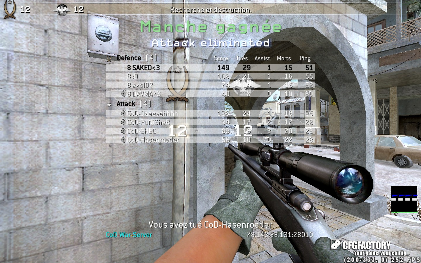 cod4, configs, saked config, saked