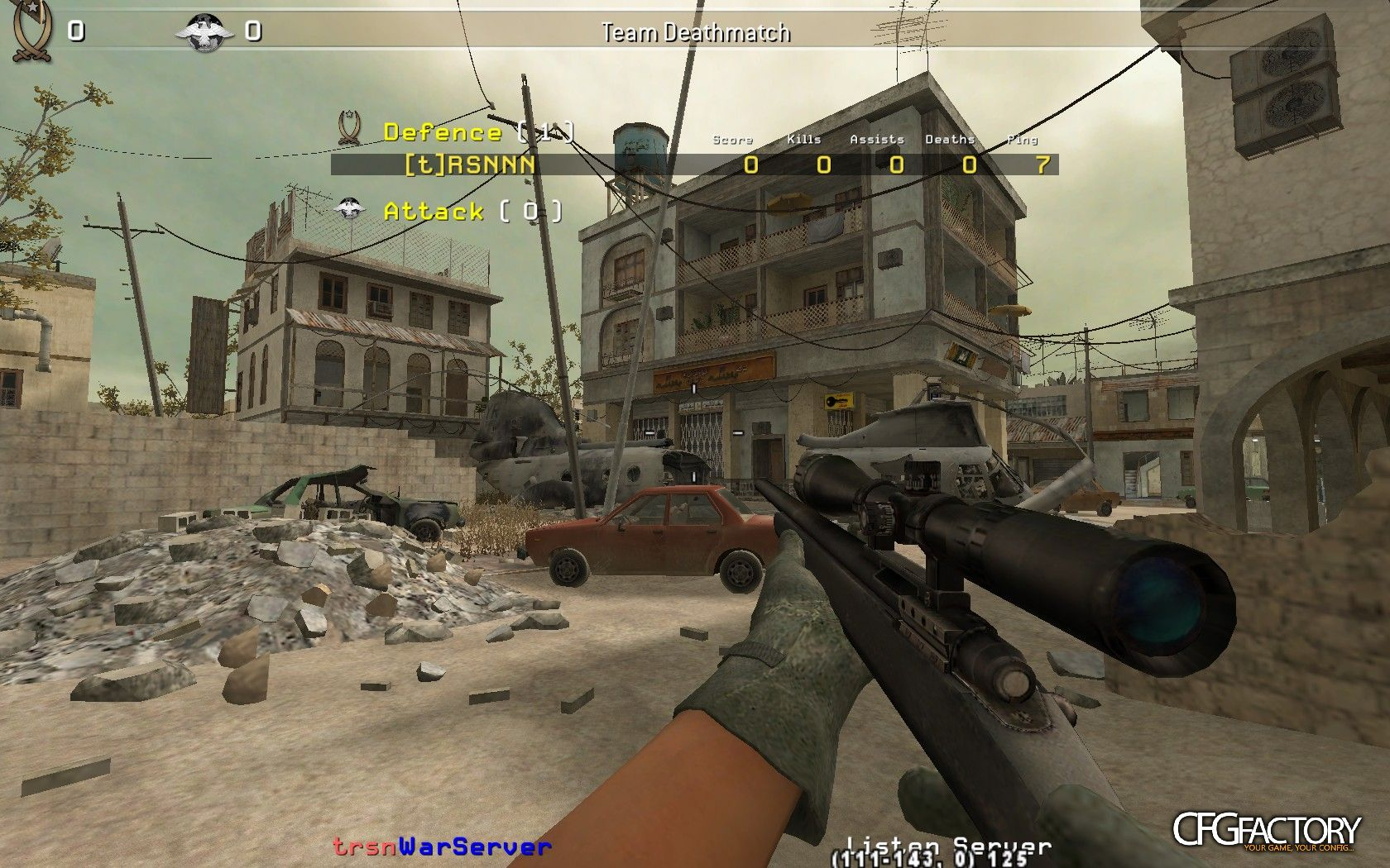 cod4, configs, trsn config, trsn
