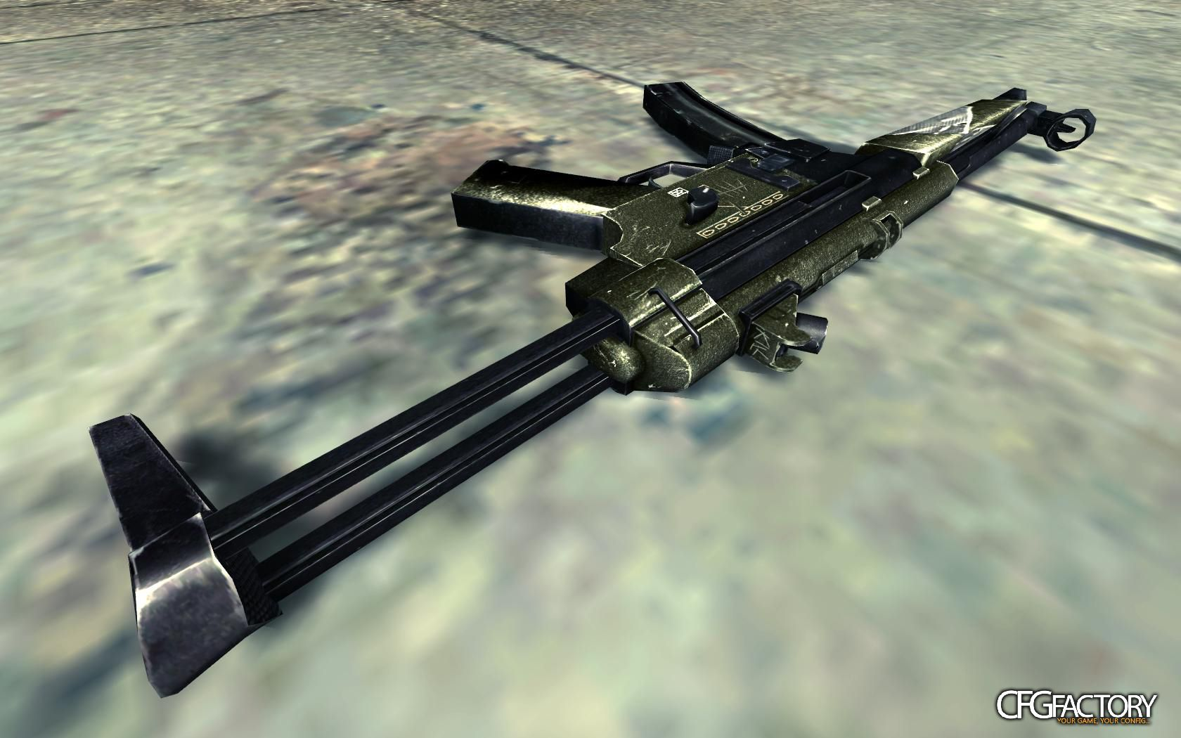 cod4, mp5, junkyard mp5, quaddamage08