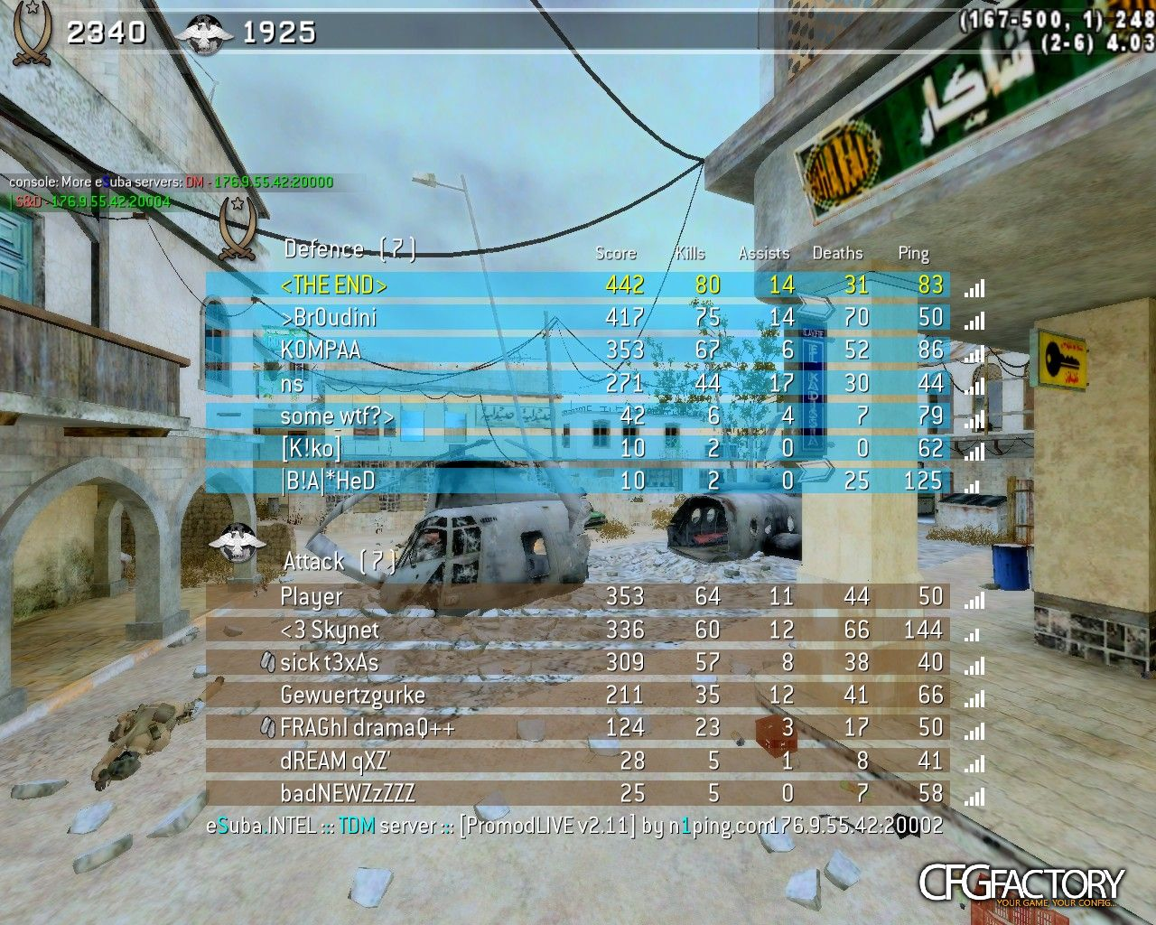 cod4, configs, end  croki cfg, end