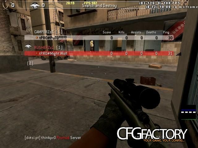 cod4, configs, christmas config by puto, puto