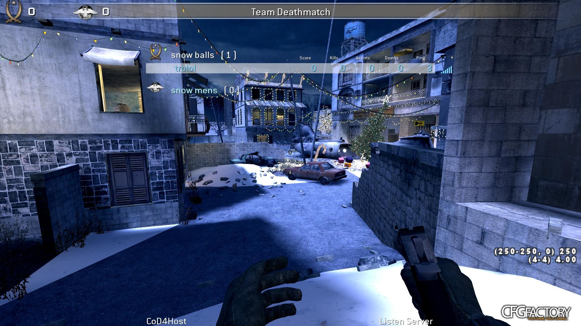 cod4, configs, dany's winter config , dynamic