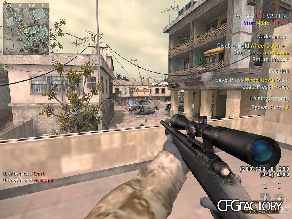 cod4, configs, viceroyy's config, viceroyy