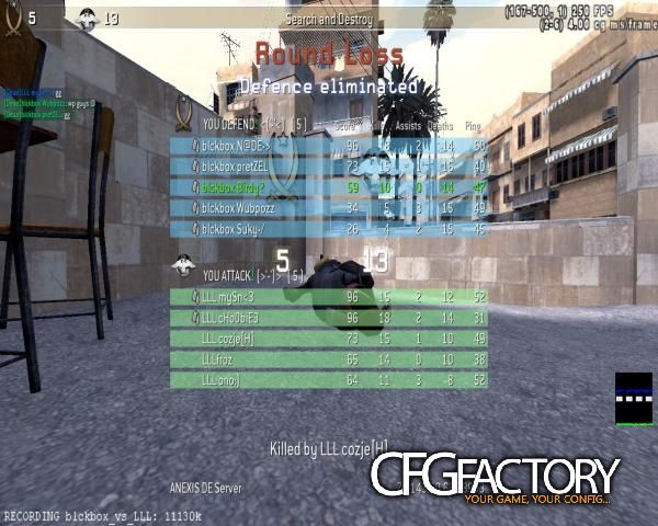cod4, configs, ptica ingame cfg, smex