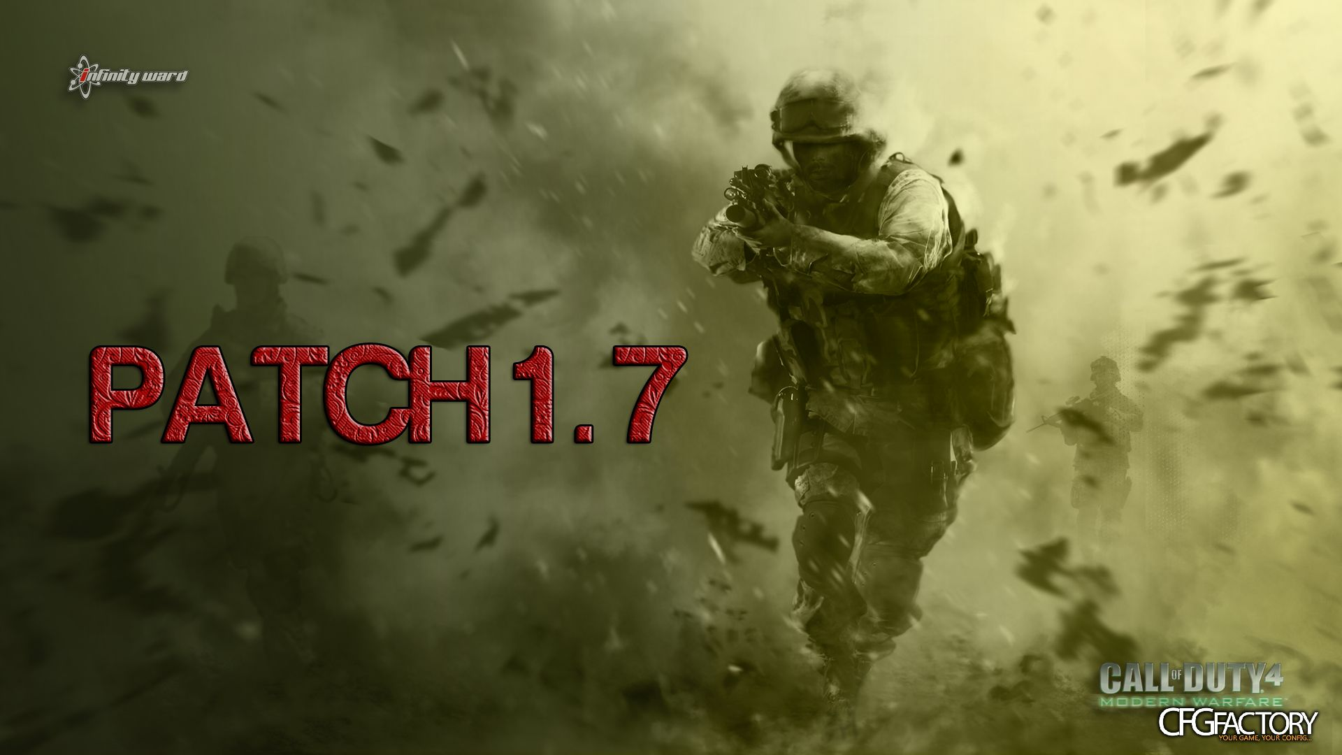 Call of duty 4: modern warfare patch v1. 6 exe file mod db.