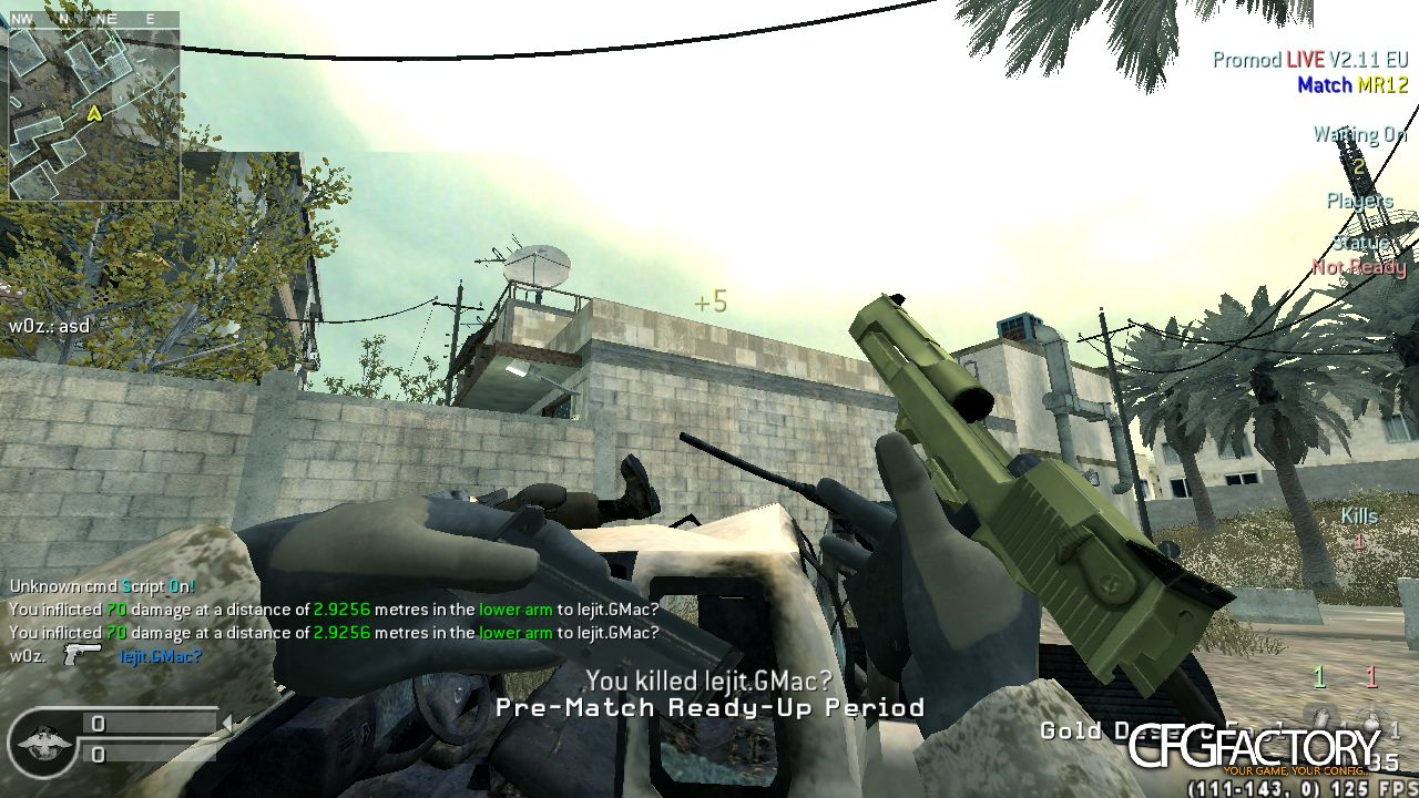 cod4, scripts, script fast fire, woz and gmac