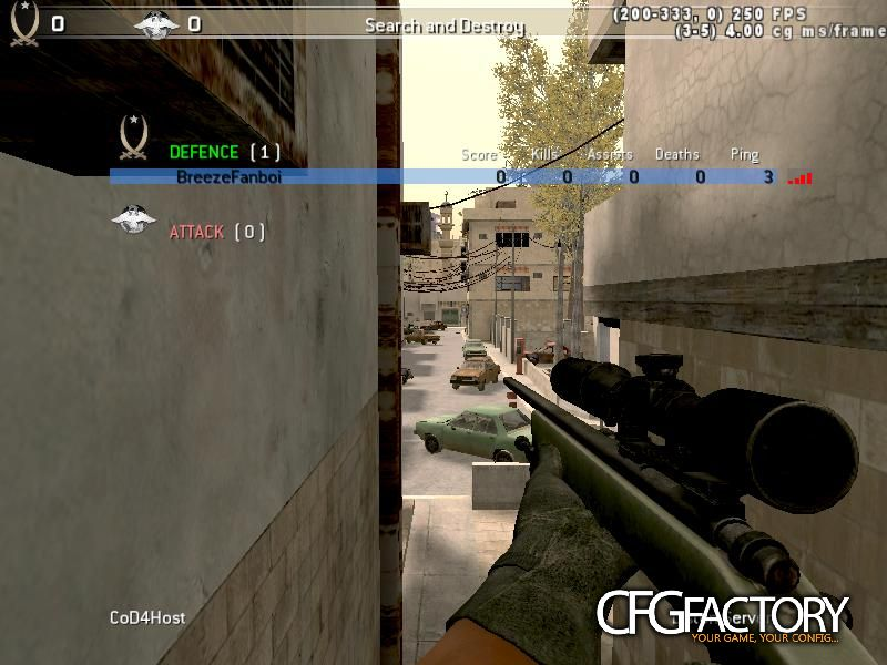 cod4, configs, breeze fps cfg, breeze, breezefanboi