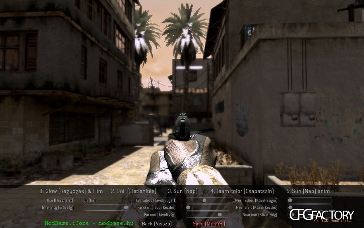 cod4, movie mods, visualmod by icore, icore