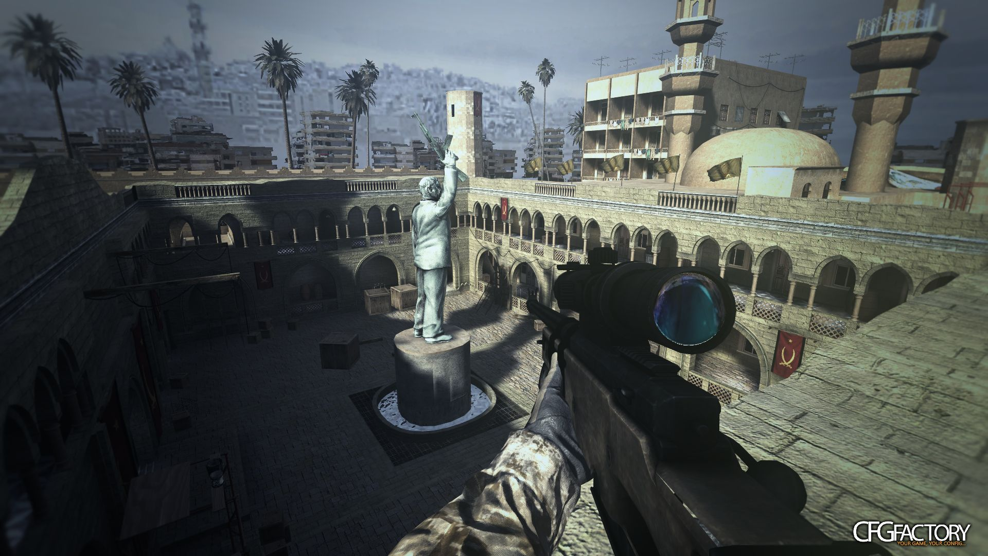 cod4, custom models, battlefield 3 l96, 3agl3