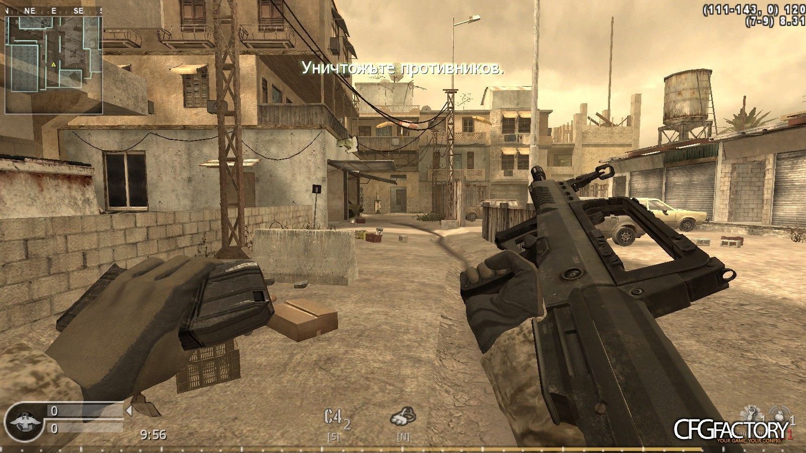 cod4, custom models, type-95 from mw3, t-max
