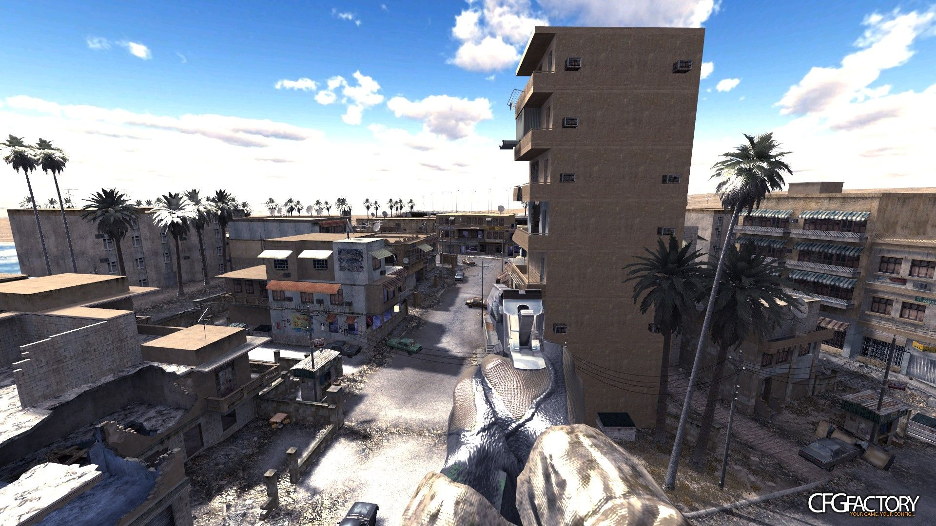 cod4, skies, bright blue sky, n/a