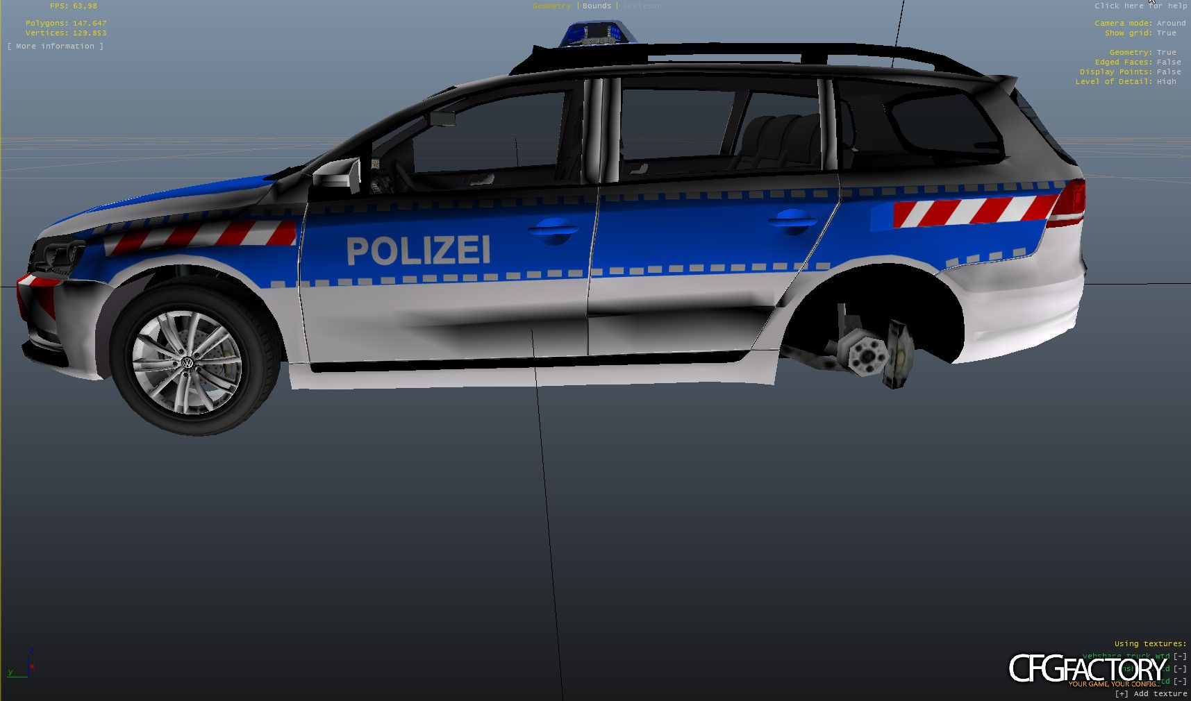 volkswagen passat b7 fustw polizei rtk 7 autobahnp. Black Bedroom Furniture Sets. Home Design Ideas