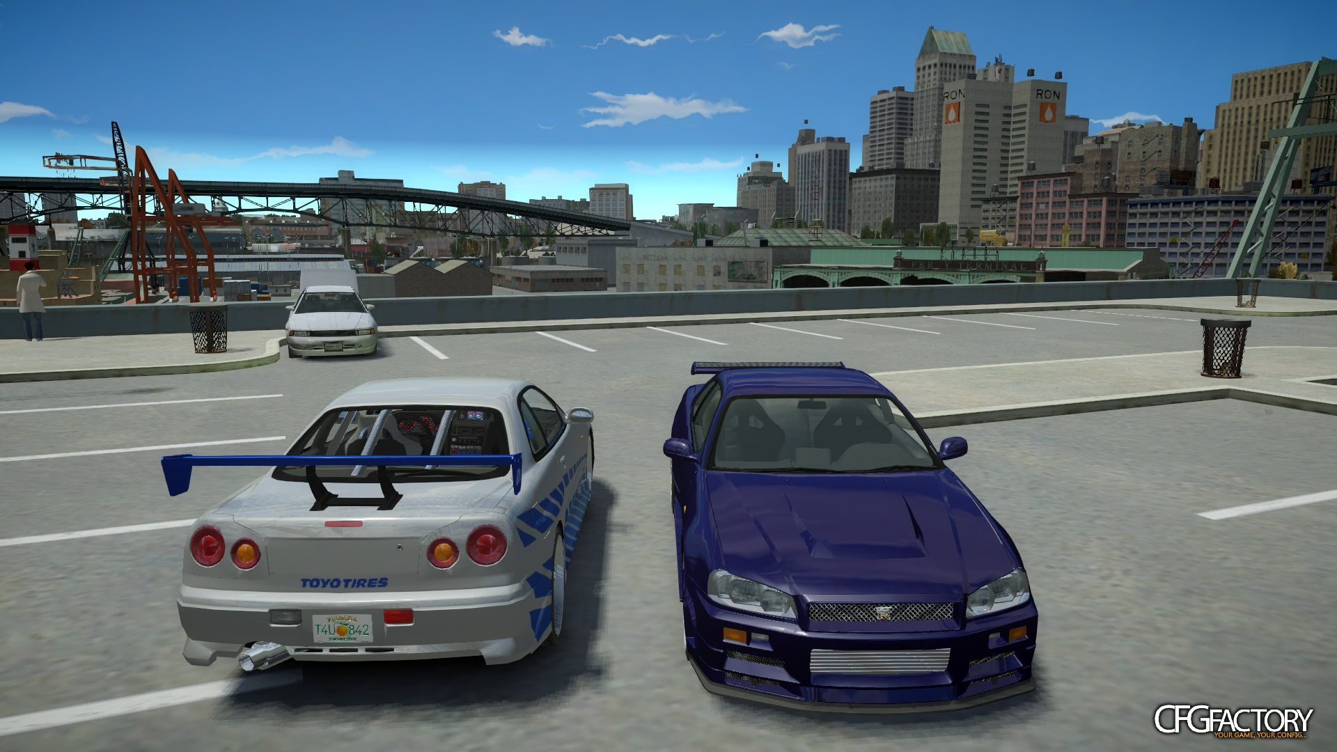 Nissan Skyline Gt R R34 Quot Fast And Furious 4 Q Download Cfgfactory