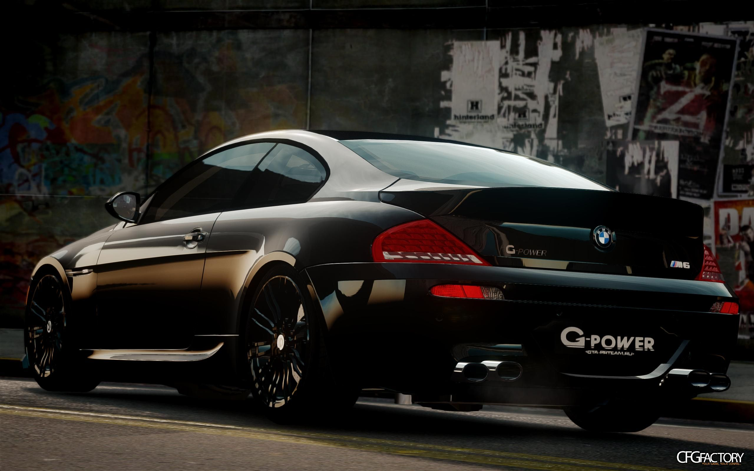 bmw m6 g power hurricane rr download cfgfactory. Black Bedroom Furniture Sets. Home Design Ideas
