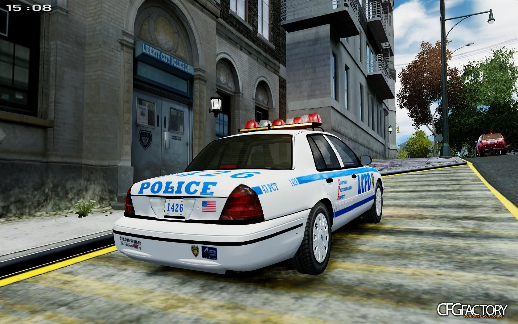 Ford Crown Victoria Police Interceptor >> NYPD/LCPD 2008 CVPI w/FS VISION SL [NON ELS] download - CFGFactory