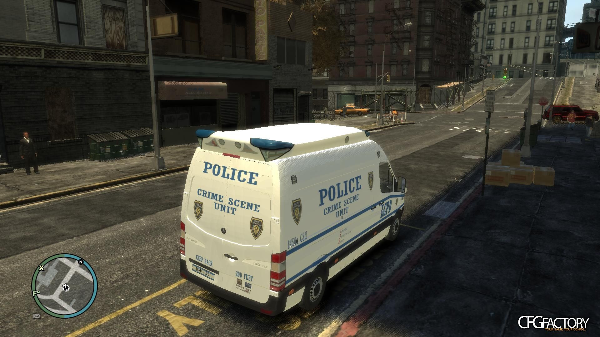 Mercedes Sprinter Police and Ambulance Textures download - CFGFactory