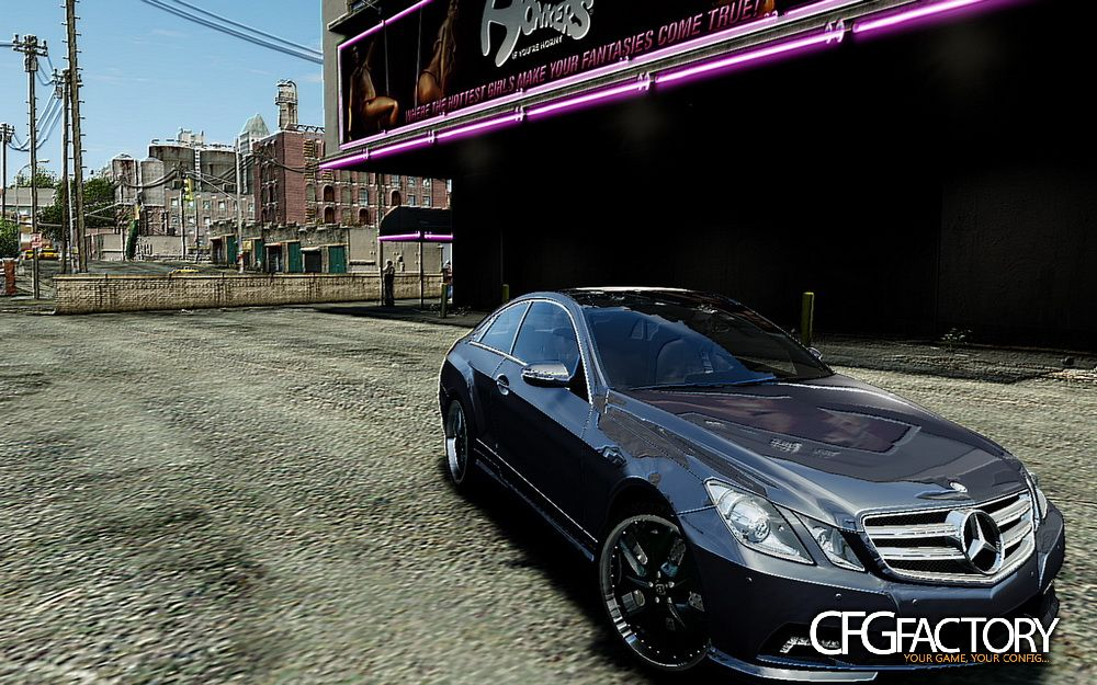 Mercedes benz e500 coupe download cfgfactory for Mercedes benz e500 coupe