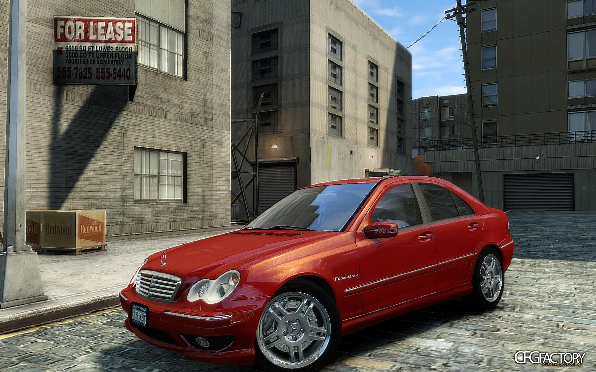 2004 mercedes benz c32 amg download cfgfactory. Black Bedroom Furniture Sets. Home Design Ideas
