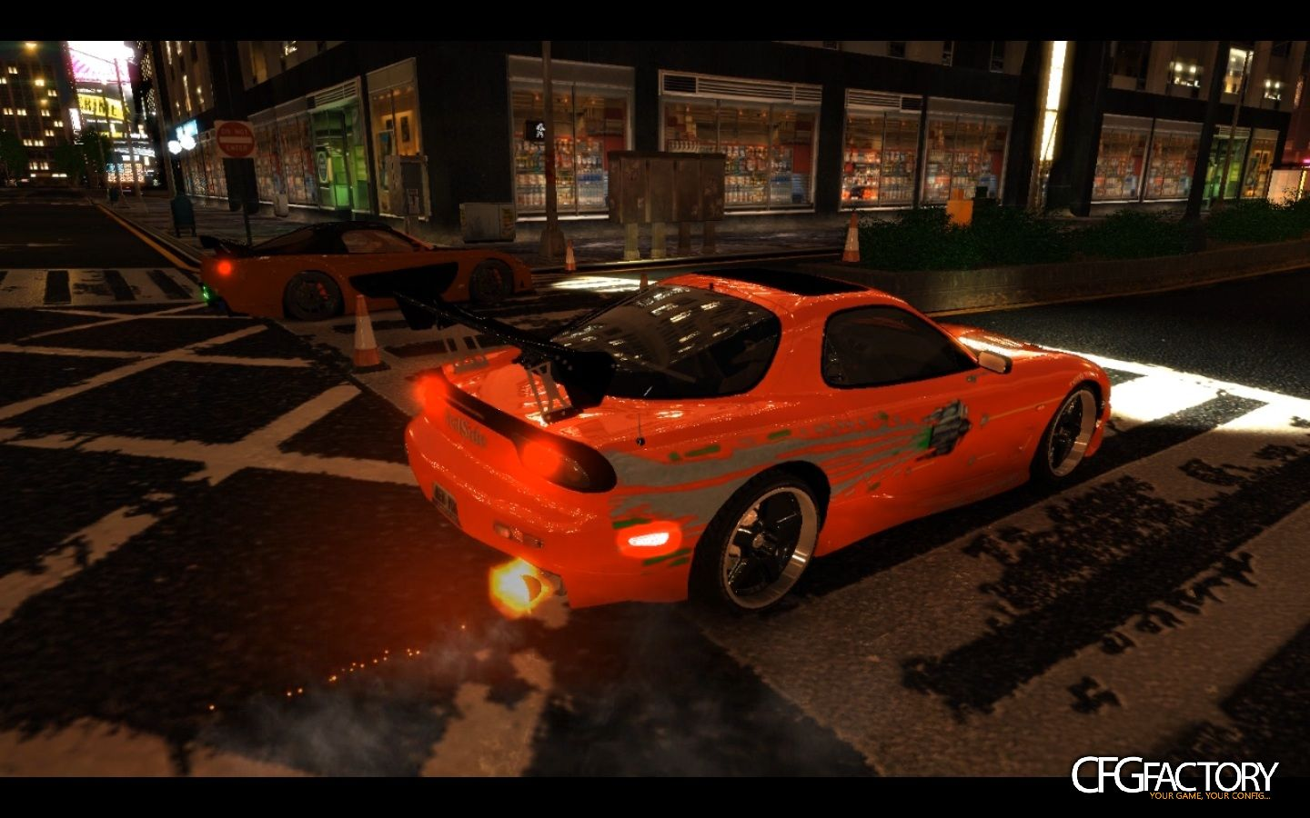 mazda rx7 fast and furious 6. fast and furious mazda rx7 paintjob rx7 6