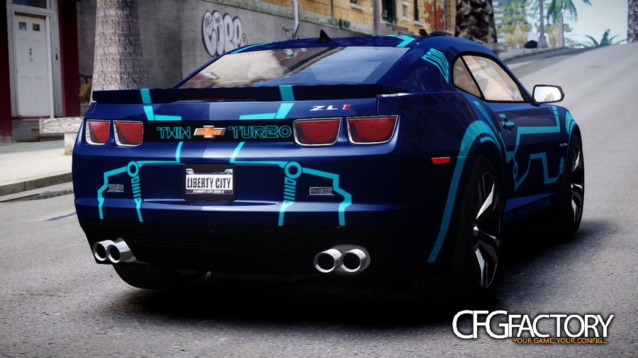 2012 Chevrolet Camaro Zl1 Quot Twin Turbo Tron Amp Qu Download
