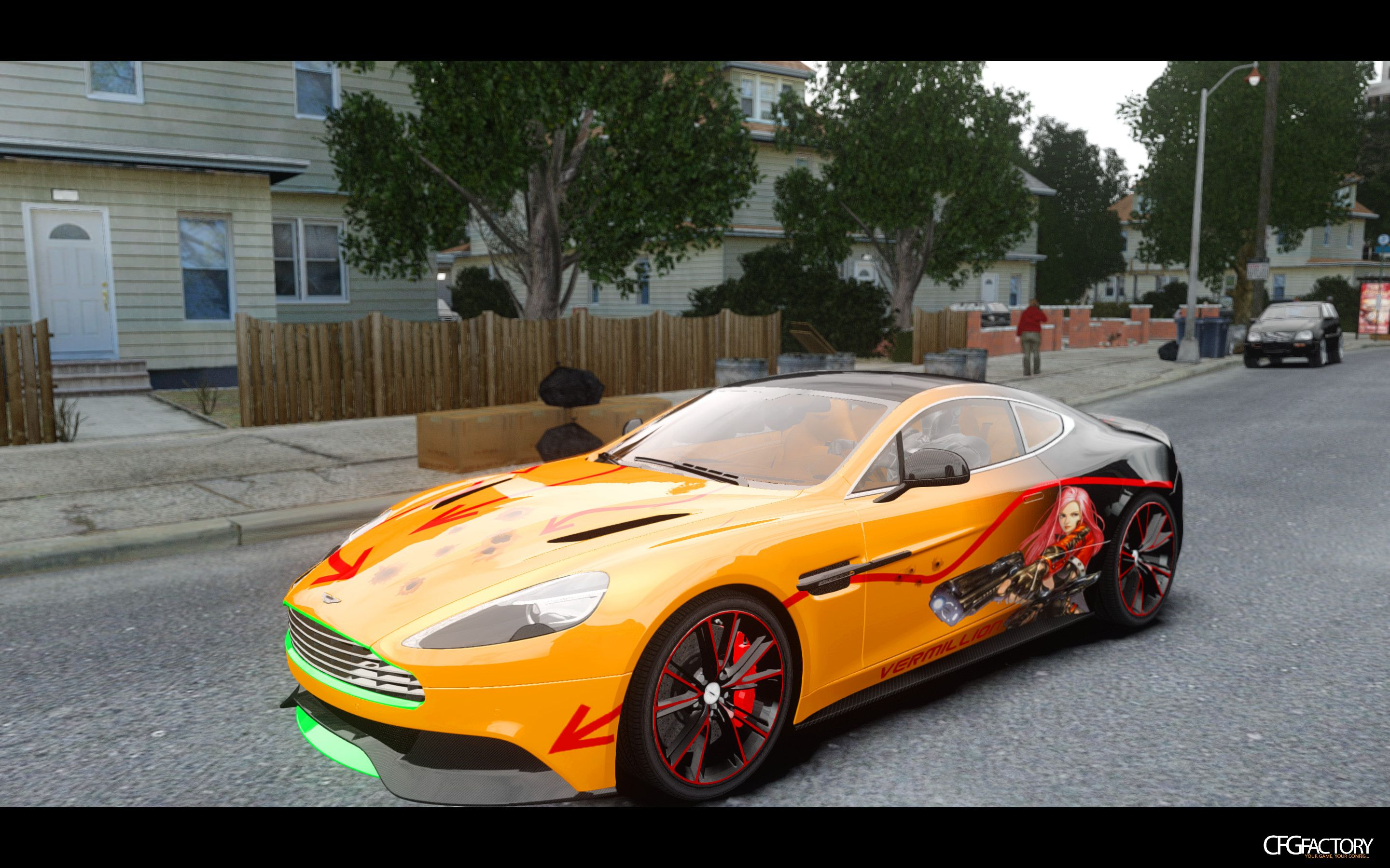 Aston Martin Vanquish Paintjob Download CFGFactory - Aston martin jobs