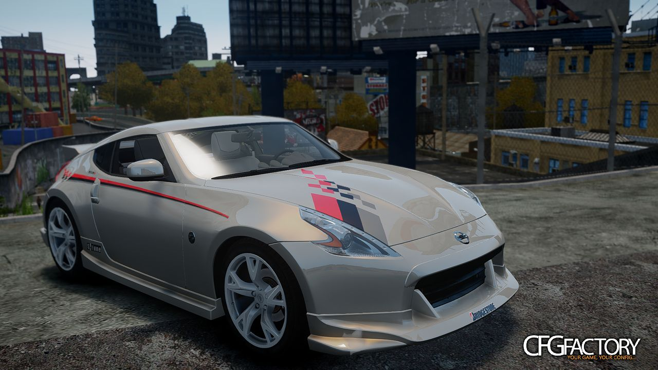 nissan 370z nismo s tune paintjob pack v1 0 download. Black Bedroom Furniture Sets. Home Design Ideas