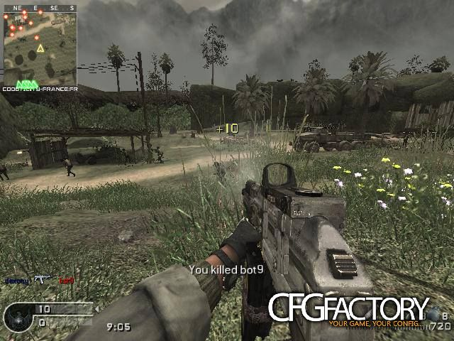 Call Of Duty 4:Black Ops Mod download - CFGFactory