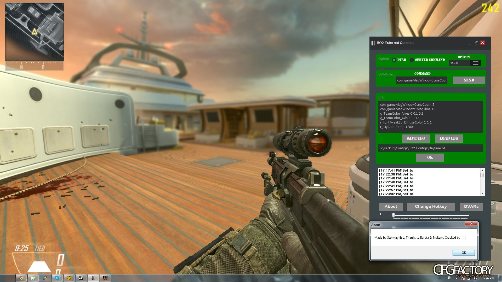 BO2 Console v2 8 1 download - CFGFactory
