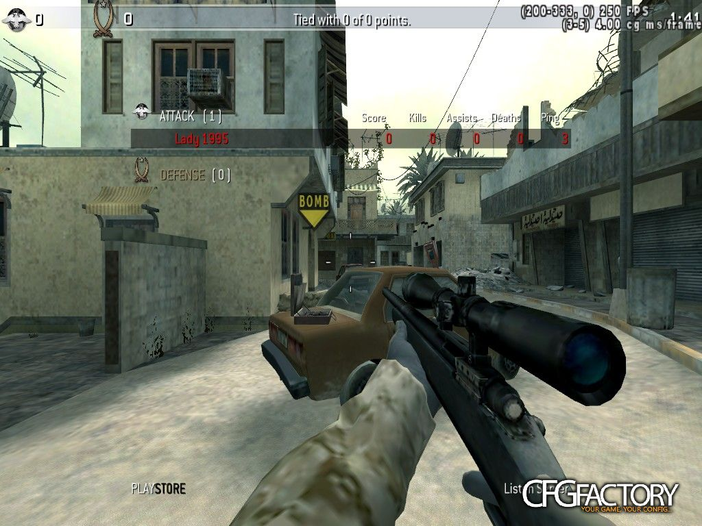 cod4, configs, gallowere cfg, auzzi