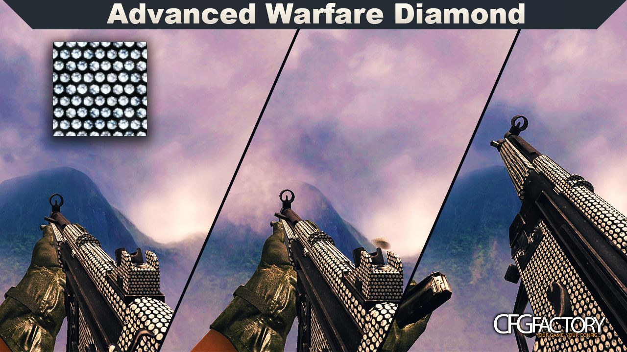cod4, mp5, advanced warfare diamond mp5, captiankoolaid