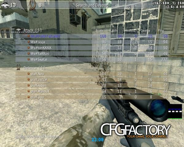 cod4, configs, punky cfg, punky