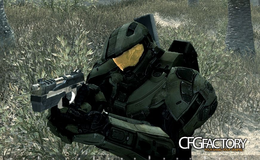 cod4, custom models, master chief by lenny, lenny