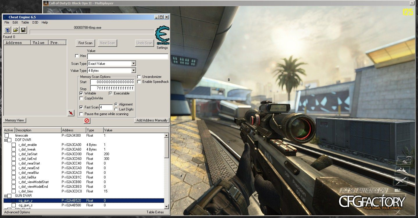 bo2, external console, bo2 redacted cheat engine table, dragonm246