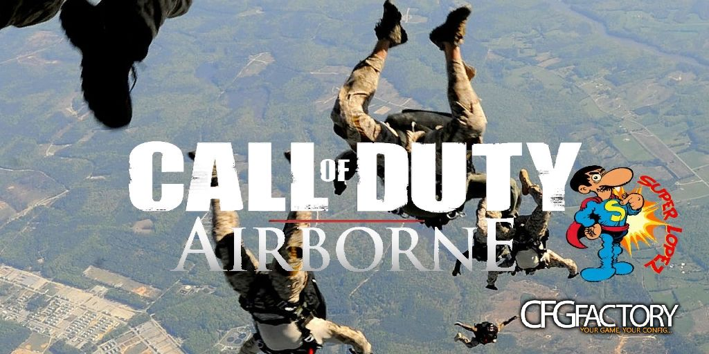 cod4, mods, call of duty airborne, superlopez(fernandodb)