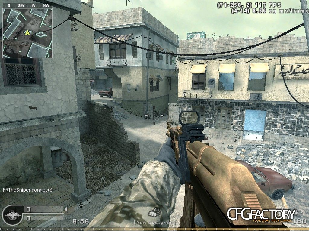 cod4, configs, official my config + bind boss fps and simple scri, xfrthesniperx