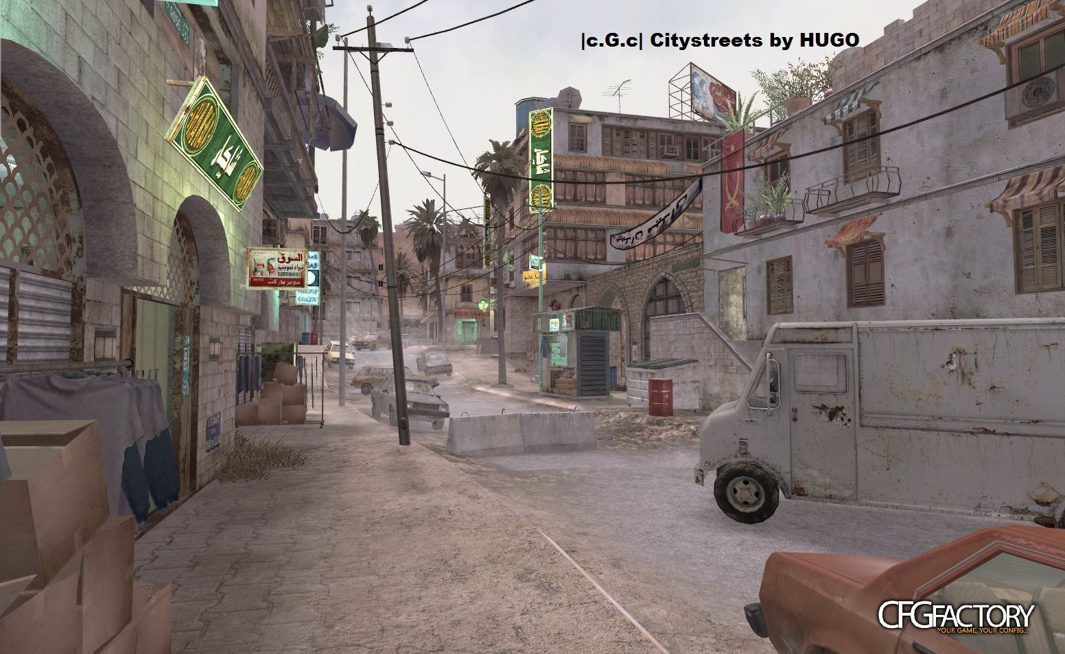 cod4, maps, mp_citystreets, hugo