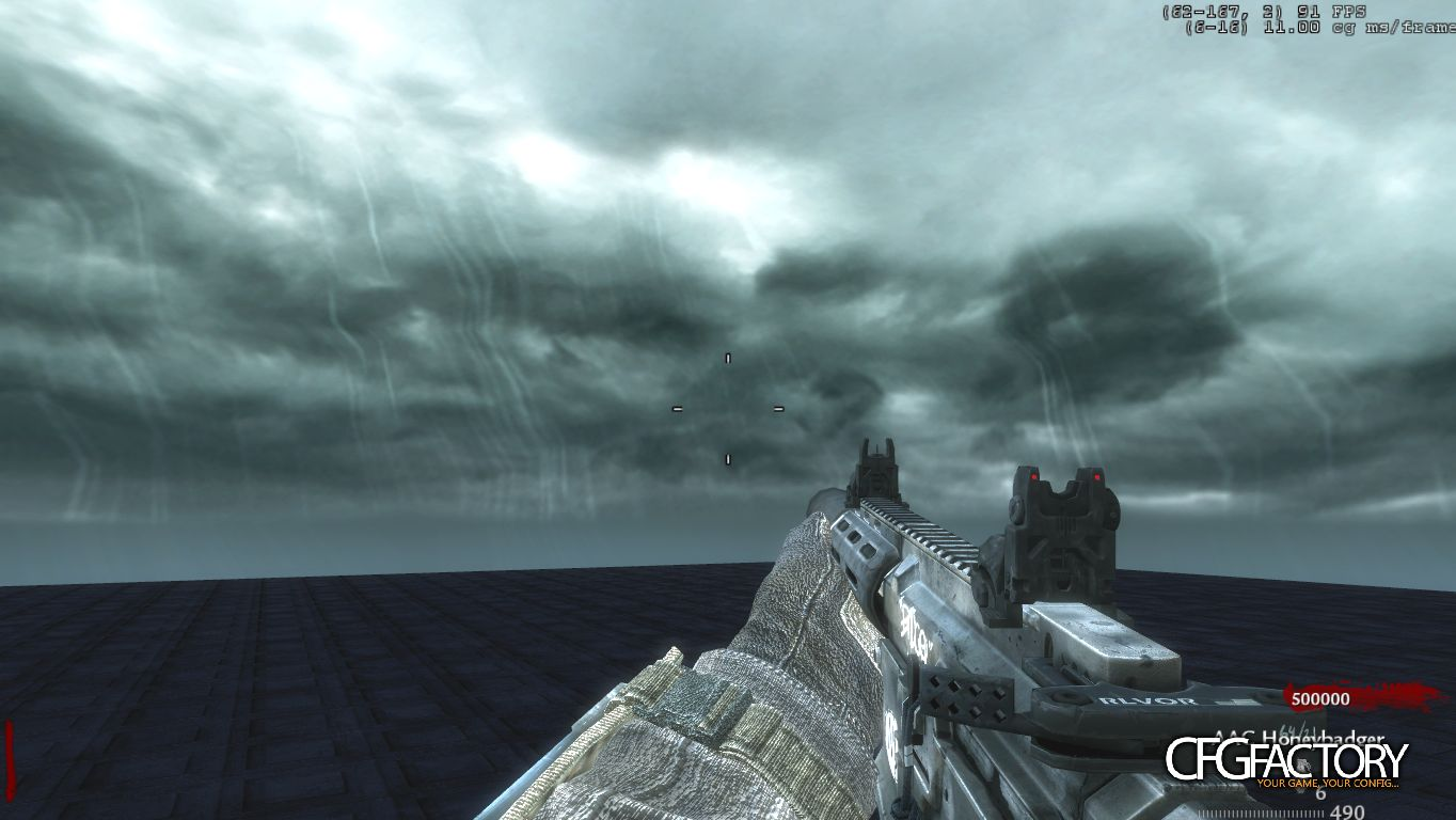 waw, custom models, aac honeybadger, infinity ward