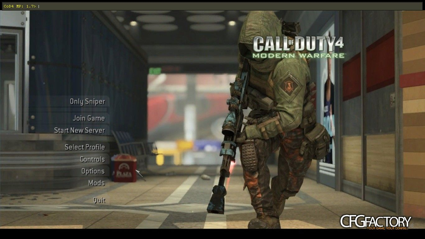 cod4, mods, new only sniper, corvus