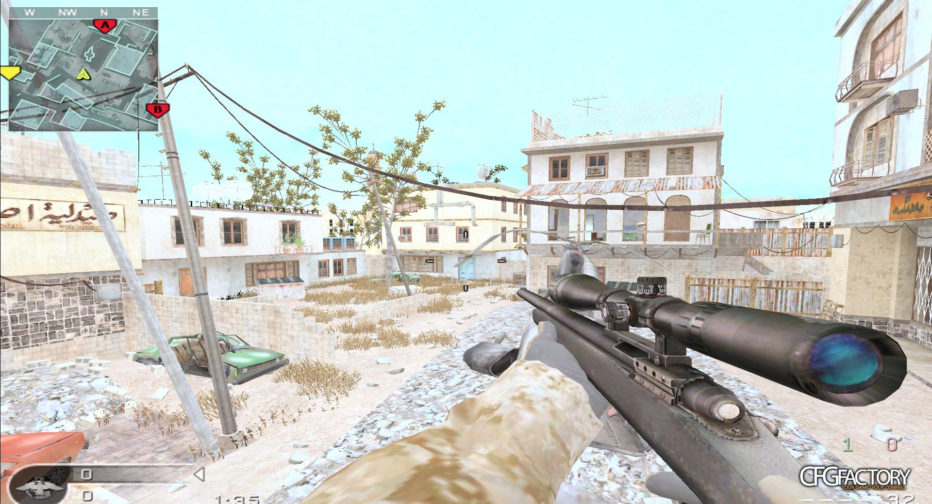 cod4, configs, tenic scope config , ten<3