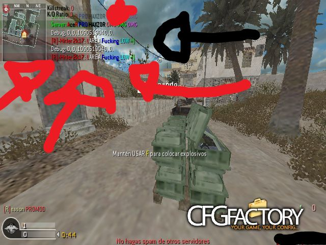 cod4, mods, plugins antimacro & +, htr