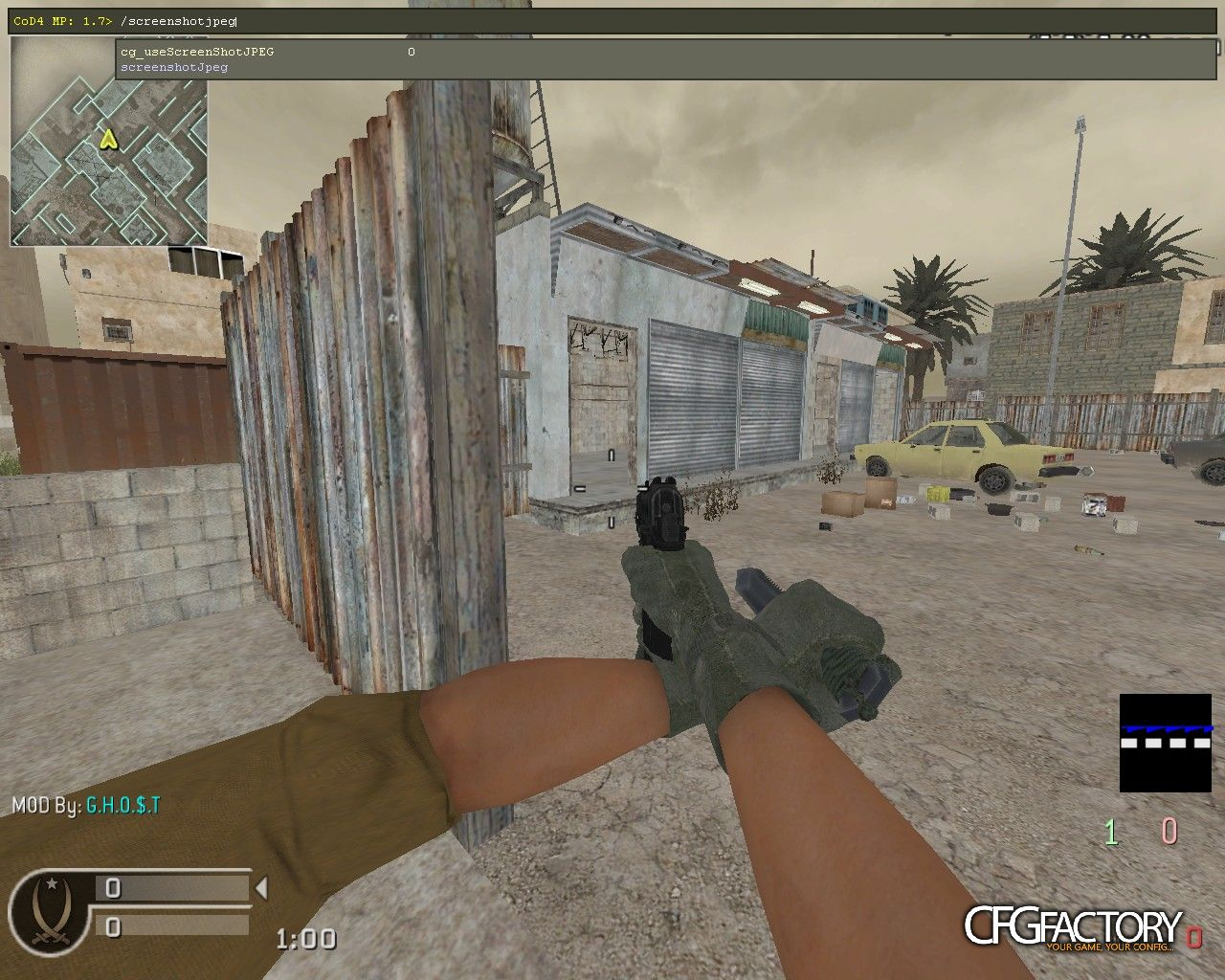 cod4, custom models, tactical knife with beretta, sheep wizard