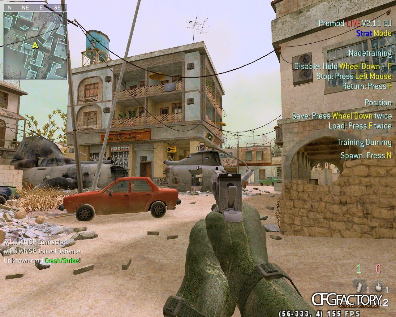 cod4, configs, whisp lan config , n/a