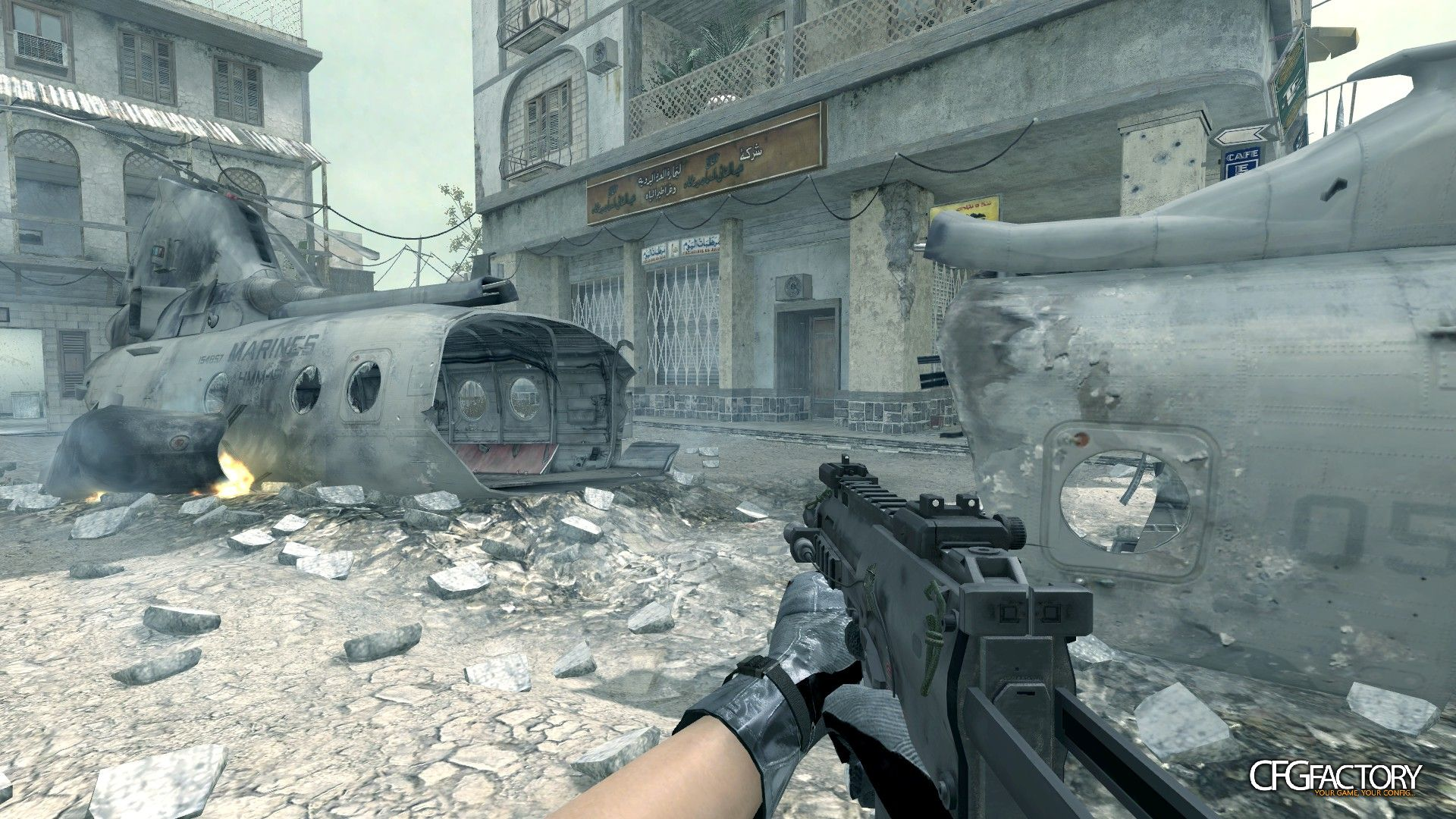 cod4, custom models, mw3 mp7, convictiondr