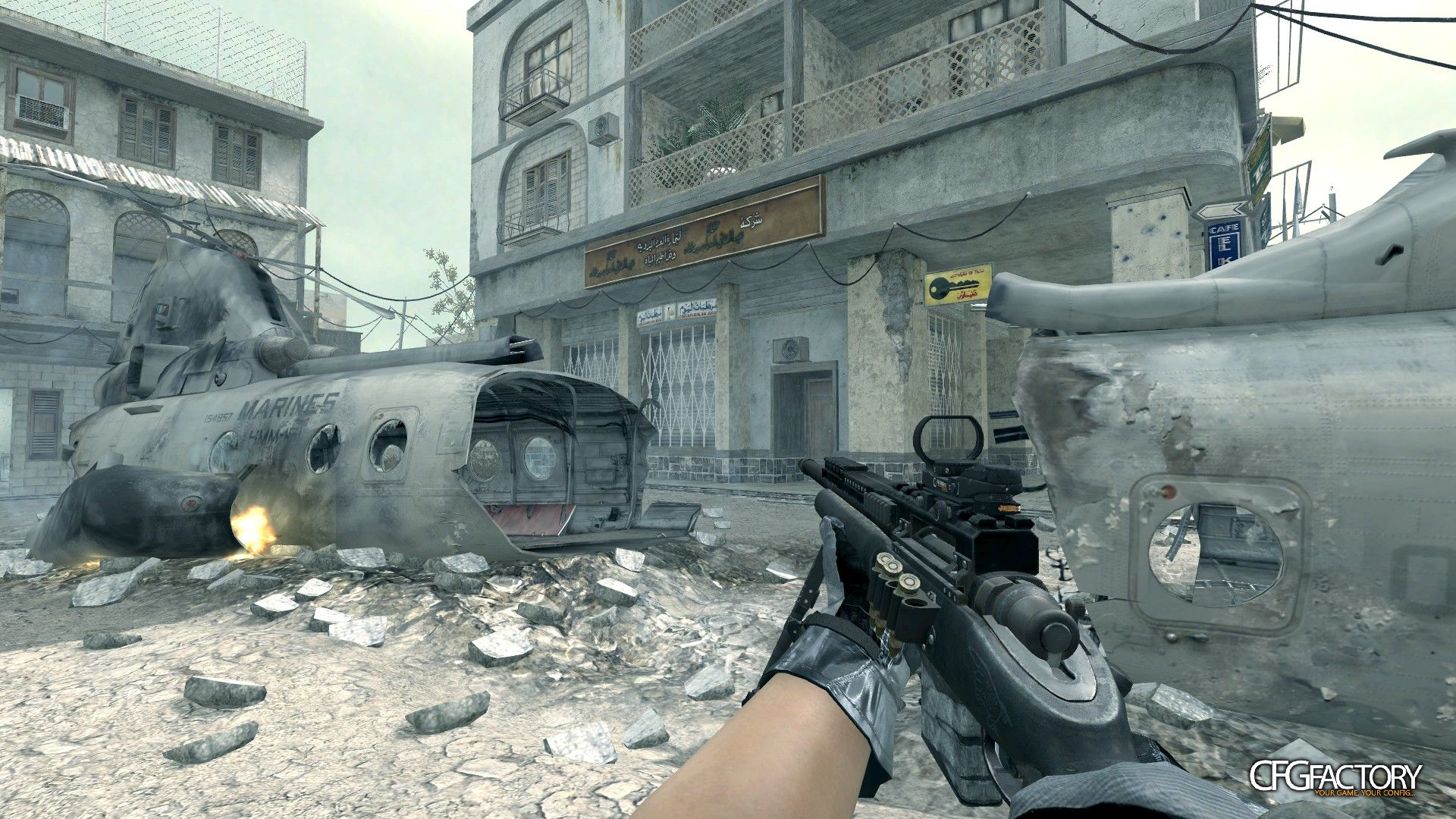 cod4, custom models, ghosts usr, convictiondr