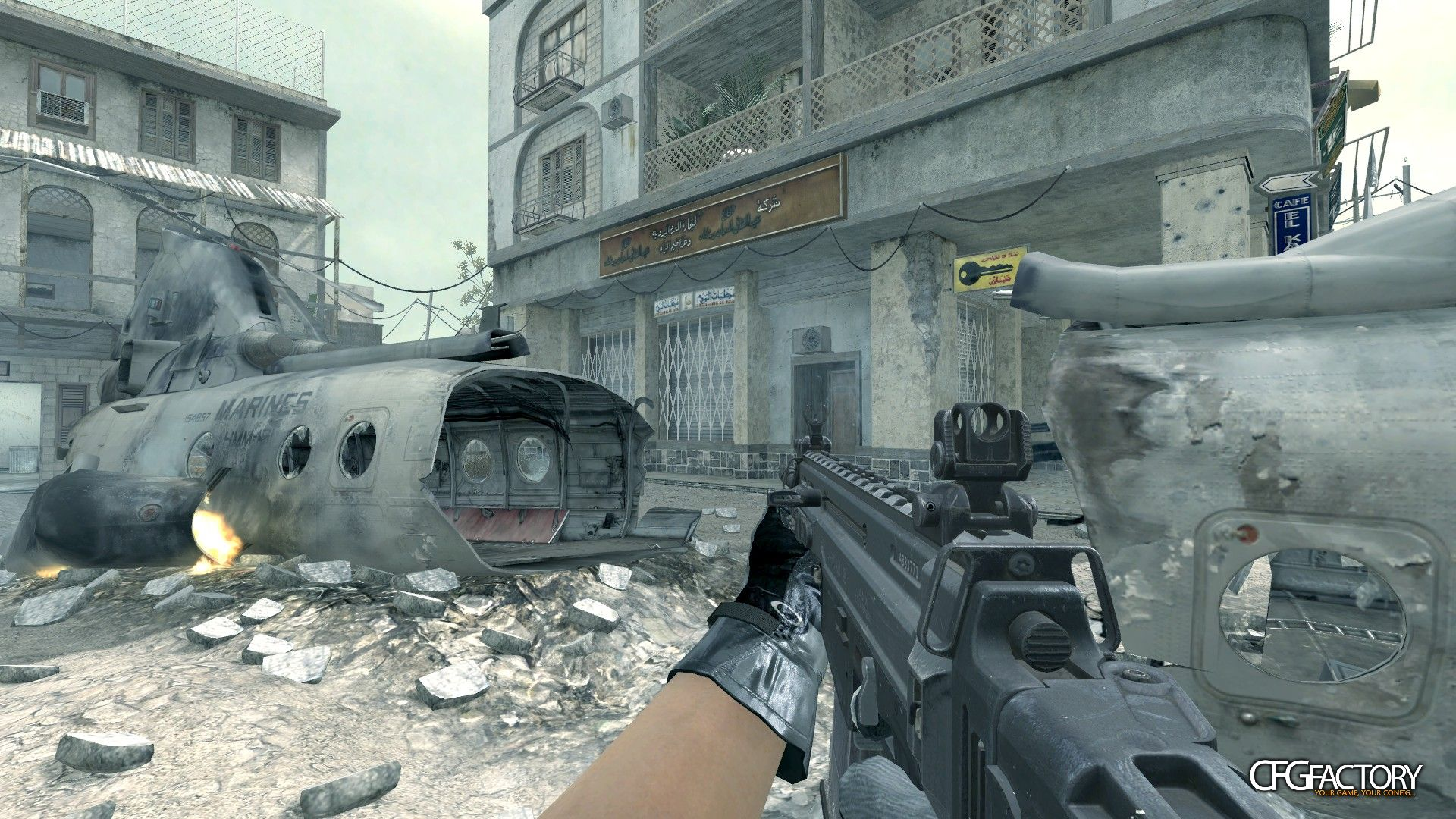 cod4, custom models, ghosts cz-805, convictiondr