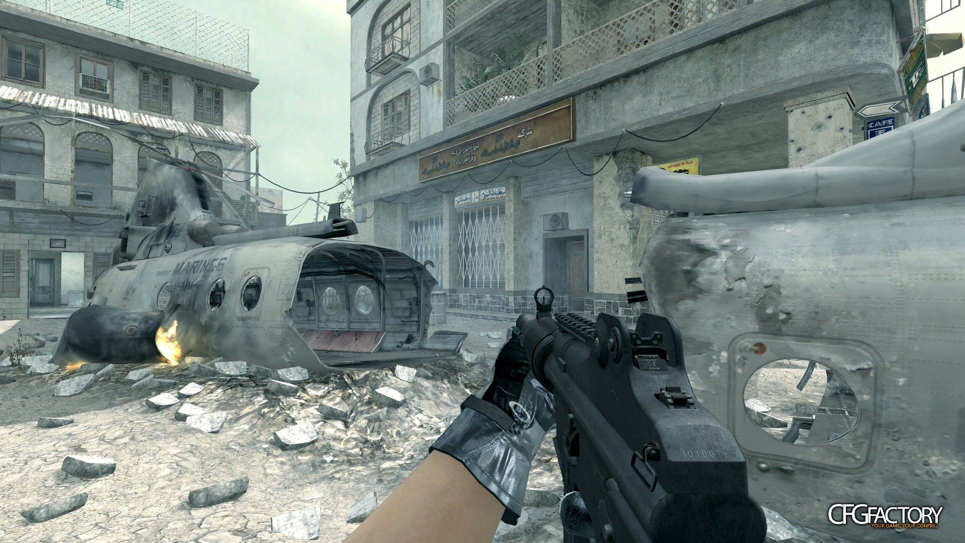 cod4, custom models, ghosts k7, convictiondr